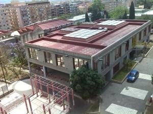 Il Corpo Aggiunto della Facoltà di Studi Umanistici dell'Università di Cagliari a Sa Duchessa, dove si è tenuta la lezione di oggi.